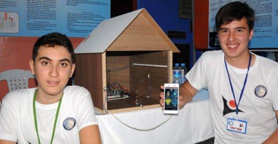 Mersin'de Harçlığı İle 200 Liraya Akıllı Ev Sistemi Üretti