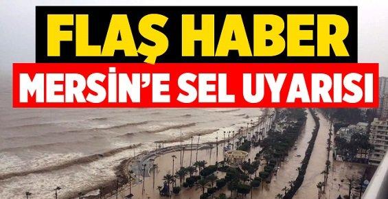 Mersin'de İkinci Sel Uyarısı Riski