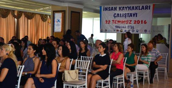 Mersin'de İnsan Kaynakları Çalıştayı Düzenlendi