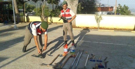 Mersin'de Kaçak Kazı Operasyonu