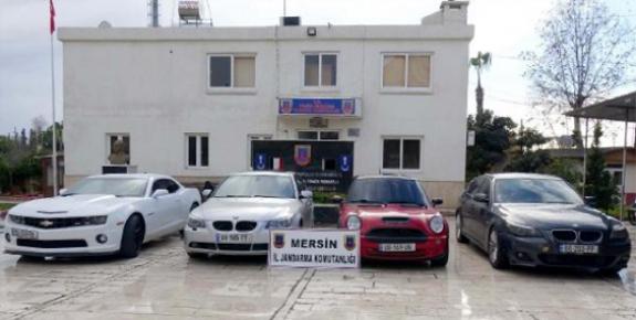 Mersin'de Kaçak Otomobil Operasyonu