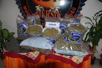 Mersin'de Kaçakçılık Ve Uyuşturucu Operasyonu