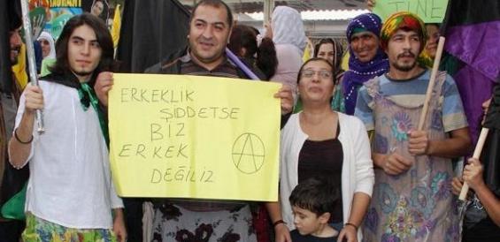 Mersin'de Kadınlardan Protesto