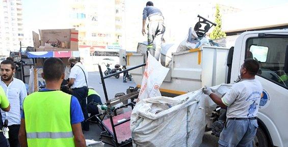Mersin'de Kağıt Toplayıcılarına Operasyon