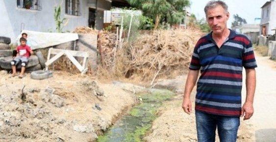Mersin'de Kanalizasyonsuz Mahalle