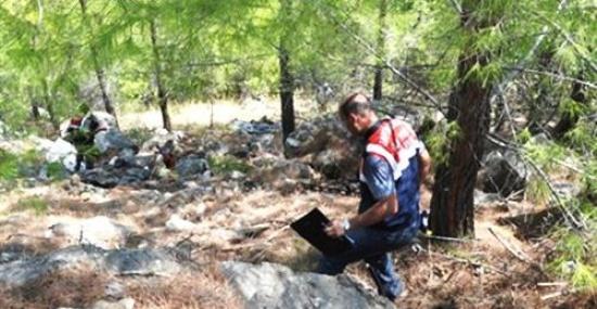 Mersin'de Kayıp Şahsın Cesedi Ormanda Bulundu
