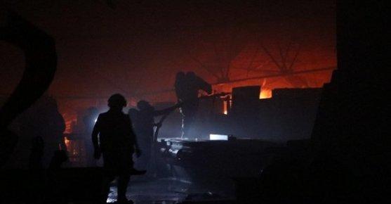 Mersin'de Keresteciler Sitesindeki Yangın Korkuttu.