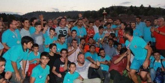 Mersin'de Köylerarası Futbol Turnuvası Tamamlandı