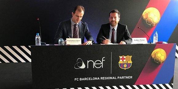 Mersin'de Kuruldu Barcelona'ya Sponsor Oldu.