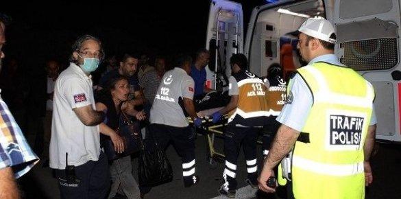 Mersin'de Meydana Gelen Feci Kazada 1 Kişi Yaşamını Yitirdi.