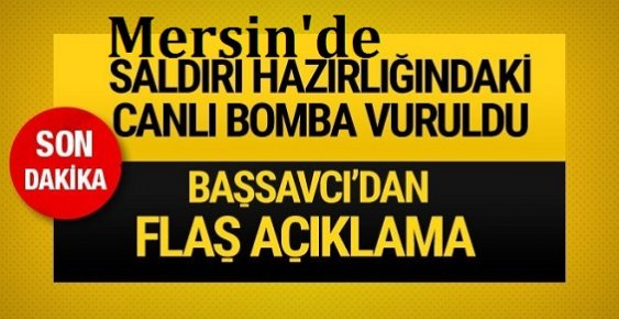 Mersin'de Mit'e Saldıran Militan Deaş'lı