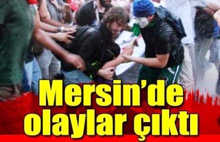 Mersin'de Olaylar Çıktı: 6 yaralı, 8 gözaltı