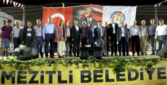 Mersin'de Örtü Altı Üzüm Festivali