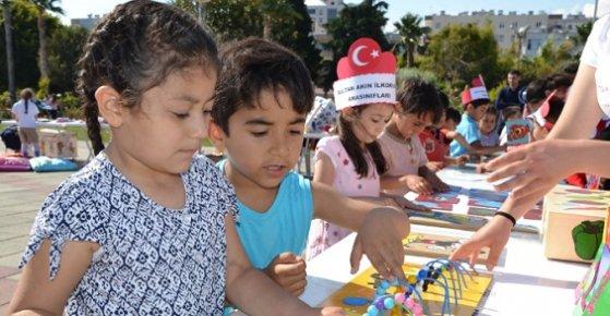 Mersin'de 'Oyuncağımı Üretiyorum Yeteneğimi Keşfediyorum' Projesi