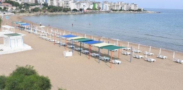 Mersin'de Sahiller Deniz Sezonuna Hazırlanıyor.