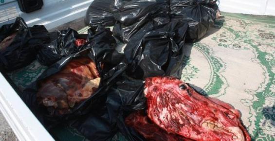Mersin'de Satılmayı Bekleyen 200 Kilo At Eti Ele Geçirildi