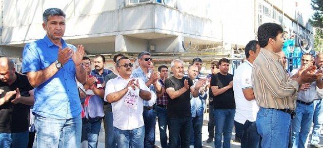 Mersin'de Şişecam İşçilerinin Direnişi Sürüyor