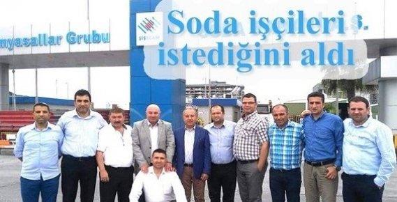 Mersin'de Soda İşçilerİ İstediklerini Aldılar