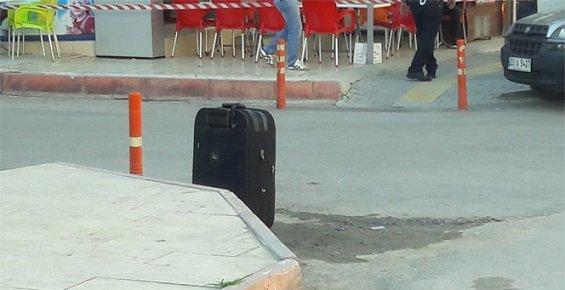 Mersin'de Şüpheli Bavul Korkuttu.