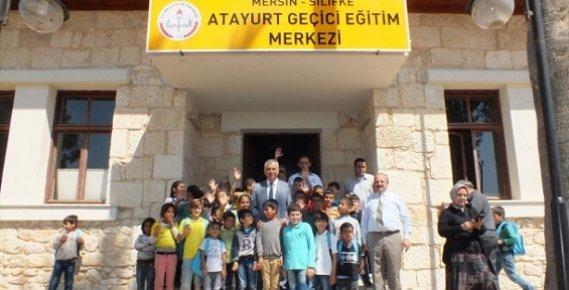 Mersin'de Suriyeli Çocuklar İçin Eğitim Merkezi Açıldı.