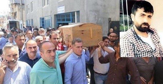 Mersin'de Suriyelilerin Katlettiği 24 Yaşındaki Genç Defnedildi.