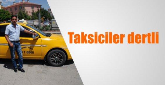 Mersin'de Taksici Esnafı Dertli