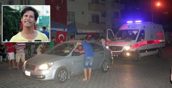 Mersin'de Terör Protestolarında 18 Yaşında Genç Erdemli'de Öldü