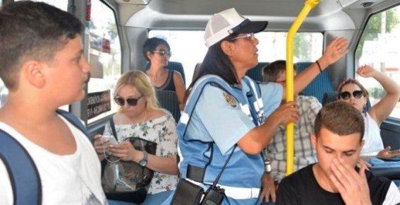 Mersin'de Toplu Taşıma Araçlarında Klima Denetimi