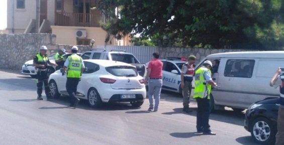 Mersin'de Trafik Denetleniyor