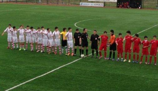Mersin'de U12 Maçında Skandal