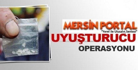 Mersin'de Uyuşturucu Operasyonunda 3 Kişi Tutuklandı.