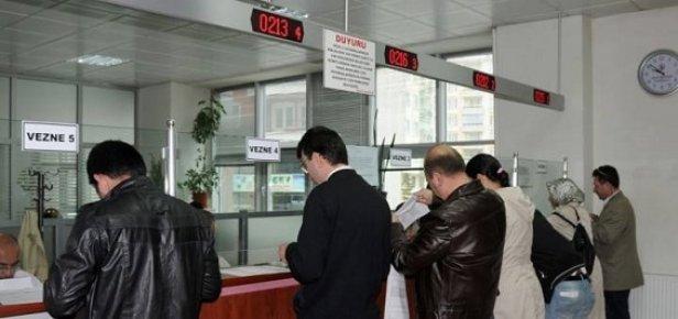 Mersin'de Vergi Ödemeleri İçin Vezneler Hafta Sonu Açık Olacak.