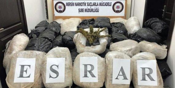 Mersin'de Yarım Ton Uyuşturucu Ele Geçirildi