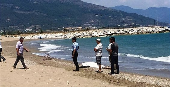 Mersin'de Yaşlı Adam Denizde Boğuldu