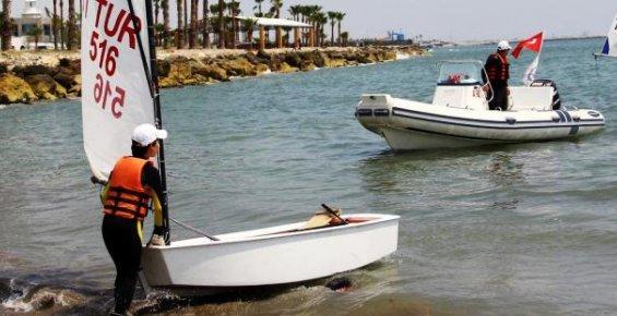 Mersin'de Yelken Sporuyla Hayat Azimleri Gelişiyor