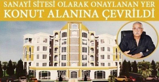 Mersin'de Yeni Sanayi Sitesi Rafa Kalktı!