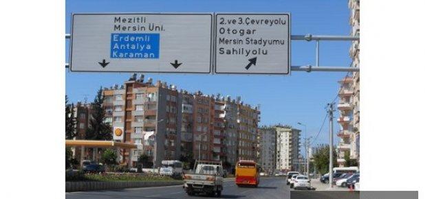 Mersin'de Yönlendirme Levhalarında İsmi Pas Geçilen Kimler ?