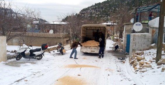 Mersin'de Yüksek Kesimlerde Karla Mücadele
