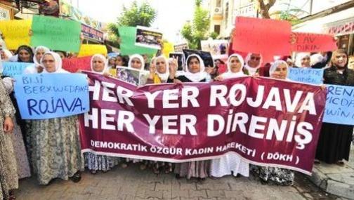 Mersin'de Yürümek İsteyen BDP'li Kadınlara Polis Engeli