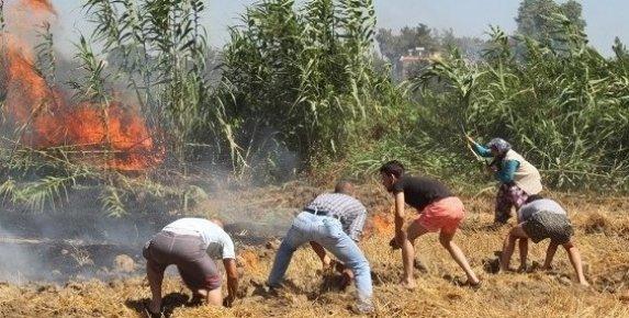 Mersin'deki Yangın Söndürülemiyor