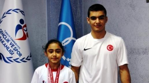 Mersin'den Cimnastik Milli Takımı'na 2 Sporcu Seçildi