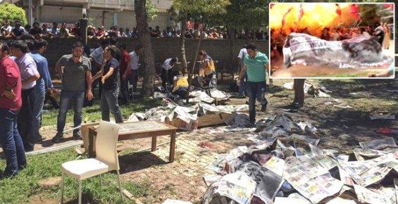 Mersin'den Suruç'taki Terör Saldırısına Tepki