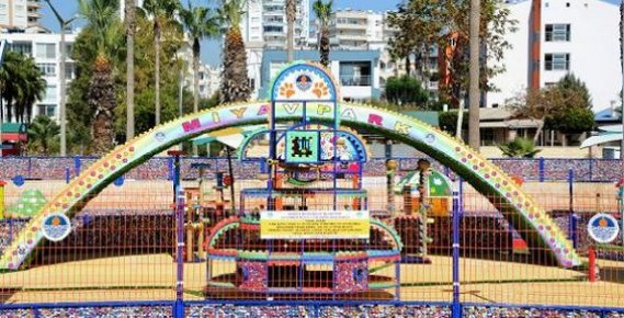 Mersin'e 'Miyav Park'