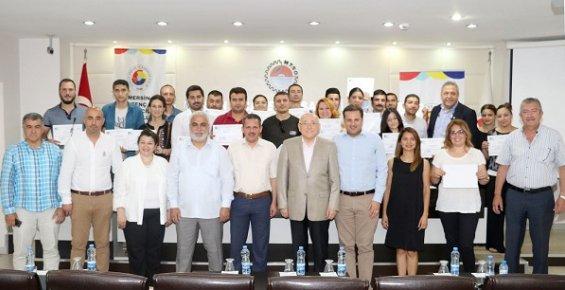 Mersin'in Girişimci Adayları Sertifikalarını Aldı