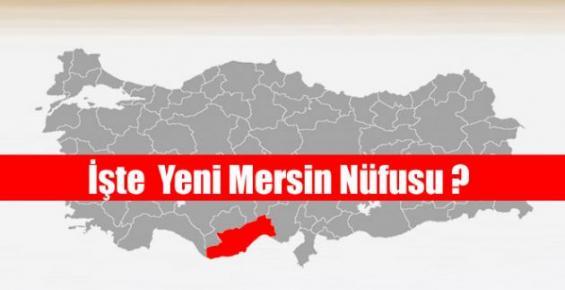 Mersin'in Nufusu 1 Milyon 727 Bin 255 Kişi Oldu