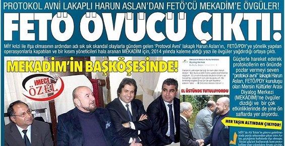 Mersin'in Tanınmış Siması Fetö Övücüsü Çıktı.