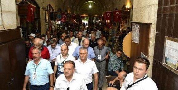 Mersin'in Tarihi Değerlerine Hayran Kaldılar