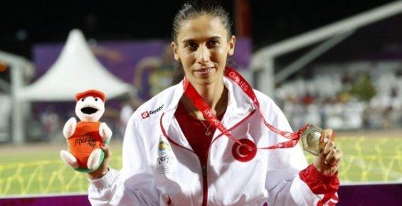 Mersinli Atletimimiz Burcu Yüksel Avrupa'da En İyi Derecesini Yaptı