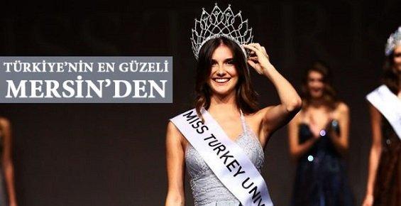 Mersinli Manken Miss Turkey 2017 Güzeli Seçildi.