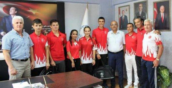 Mersinli Sporcular Avrupa ve Dünya Şampiyonalarına Katılacak